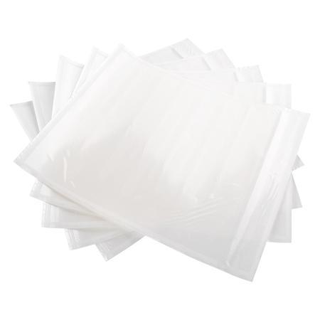 带骨背胶袋 白离型纸透明自封单据袋 快递物流邮政拉链带嵌合骨条背胶袋1箱